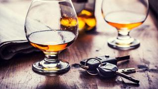wypadek pod wpływem alkoholu